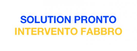 Solution Pronto Intervento Fabbro