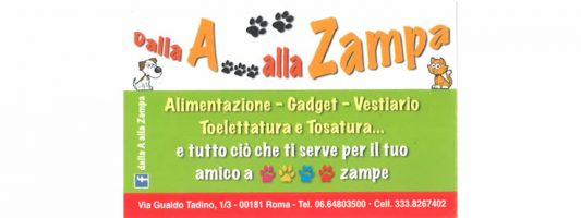 Dalla A… Alla Zampa !
